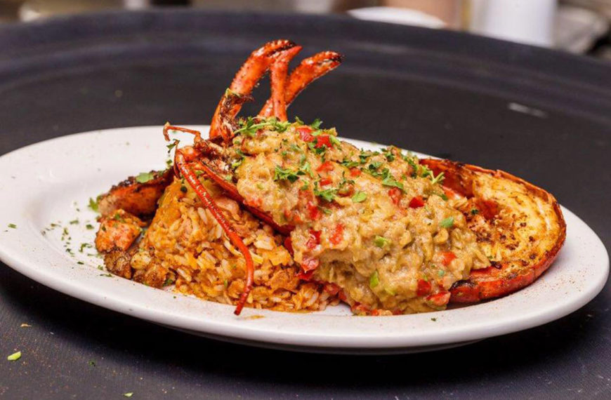Destin's best seafood at the Crazy Lobster