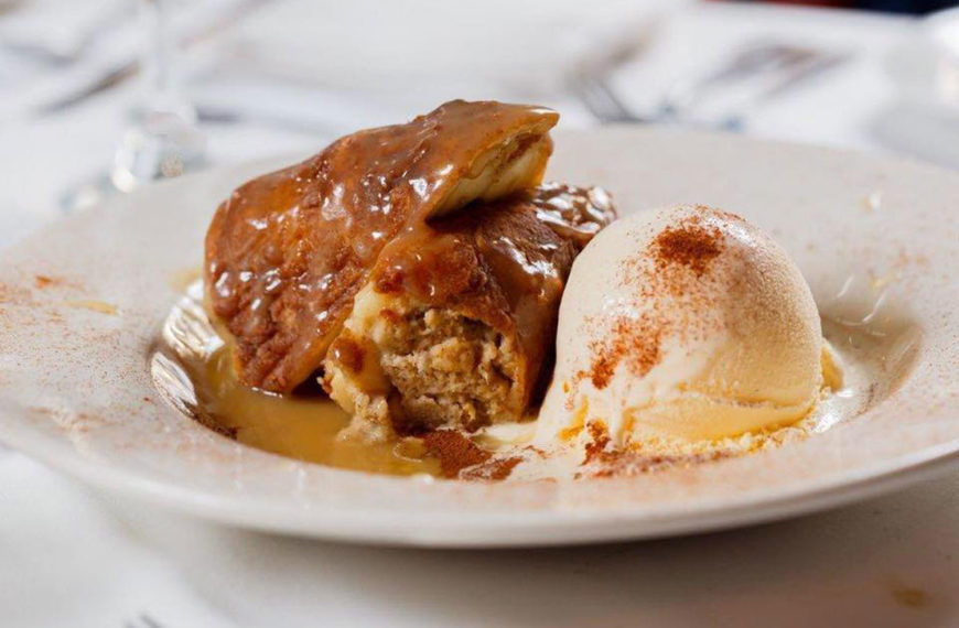 Delicious dessert at the Crazy Lobster in Destin, FL
